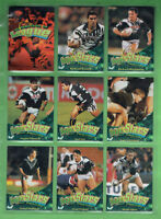 #T79.  SET (90) OF 1996 NEW ZEALAND  RUGBY LEAGUE SUPERSTARS CARDS
