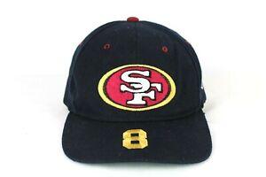 Vintage 90s San Francisco 49ers Steve Young Snapback Hat Cap