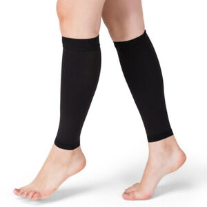 Medical Grade Calf Compression Sleeve Socks Sports Flight Travel Nurses Varicose