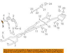 BMW OEM 08-18 X6 4.4L-V8 Exhaust-Preconverter Gasket 18307553601