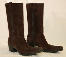 Amazing PRADA Suede Leather High Boots 38EU UK5 US8 Made in Italy
