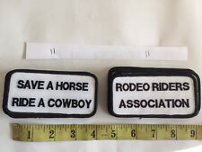 22 Wholesale Patch SAVE A HORSE RIDE A COWBOY RODEO RIDER Sex Rock Funny Costume
