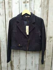 Darling Black Biker Jacket Size: XS - Was Selling At Yoox / Asos / Topshop