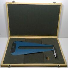 Fowler 0 1 Deep Throat Micrometer With12 Throat Depth 52 517 612 1