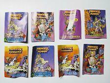 She-Ra Princess Of Power  Vintage Mini Comic Book Lot of 8
