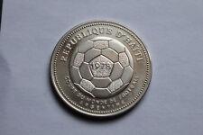 HAITI 1977 - 50 Gourdes in Silber, PP! FUSSBALL WM ARGENTINIEN 1978