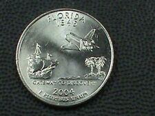 UNITED  STATES    25 Cents    2004  D    UNC    FLORIDA  *
