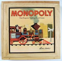 MONOPOLY Wooden Box 2003 Nostalgia Edition - Hasbro / Parker Brothers Board Game
