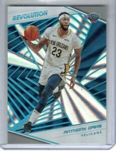 ANTHONY DAVIS 2018-19 Panini Revolution Sunburst #/75 New Orleans Pelicans