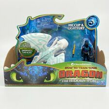 How to train your Dragon 3 The Hidden World Hiccup & Light fury Blue Marks