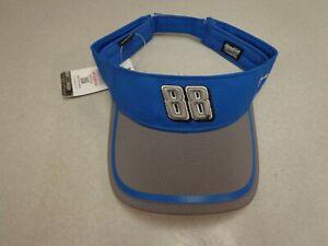 NEW   Dale Earnhardt  JR #88  Nascar  Sun Visor  Ball Cap Hat  Blue     c1