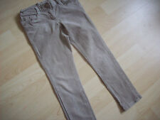 NEXT BEIGE STONE COLOUR SKINNY LEG NEEDLE CORD  JEANS AGE 5