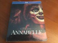 Annabelle (Blu-ray Steelbook, 2014, Brand New)