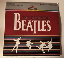 The Complete Beatles Laserdisc MGM/UA 1982 ML100166 Extended Play