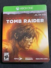 Shadow Of The Tomb Raider Limited Croft Steelbook Edition Microsoft Xbox One