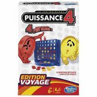 Puissance 4 Enfant +6 Ans Jeu de Societe Strategie 2 joueurs Voyage Francaise