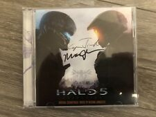 Halo 5: Guardians Game Soundtrack Signed/Autographed 2xCD Used Rare Collectible