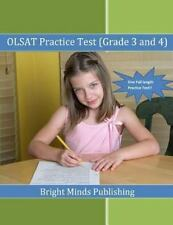 OLSAT Practice Test (Grade 3 And 4) by Bright Publishing (2013, Paperback)