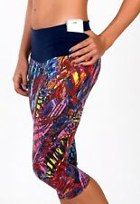 Womens Printed Pocket Leggings Brazilian Compression Supplex Athletic Wear XS-S