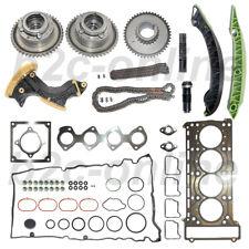 Timing Chain Kit+Gear+Tensioner+Adjuster+Head gasket Set Mercedes C250 E250 M271