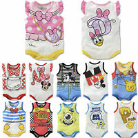 Newborn Baby Boys Girls Romper Bodysuit Jumpsuit Playsuit Outfits Clothes 0-18M