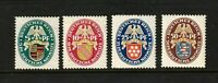 "Germany stamps #B15-18, full set, ""1926"",  17 & 18 are MNHOG, rest MHOG, SCV$174"