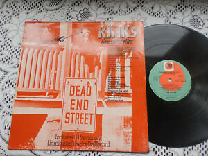 kinks dead end street signed by mick avory lp only no ep