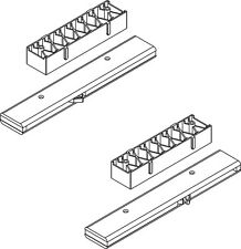 Guide slow motion per ante scorrevoli CF3530