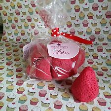 Wild Strawberries Soy Wax Melts 5-6 oz Spring Summer Fruit Mother's Day