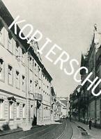 Freiburg im Breisgau - Salzstraße - Sickingen-Palais um 1960          A 18-41