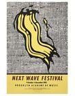 Poster: ROY LICHTENSTEIN Brooklyn Academy of Music Next Wave Festival 2002