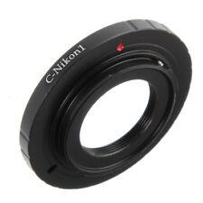 C Mount Cine Movie lens to Nikon 1 J3 J4 J5 V3 V5 Mirrorless Camera Body Adapter