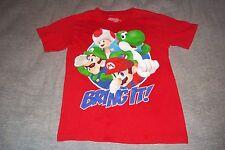 Nintendo Super Mario Game Bring It T-Shirt Luigi Yoshi Child Boys Girls 7