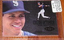 2000 SkyBox Dominion Eye on October Alex Rodriguez #15