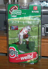 McFARLANE COLLEGE NFL NCAA 3 BEANIE WELLS VARIANT CHASE FOOTBALL ACTION FIGURE