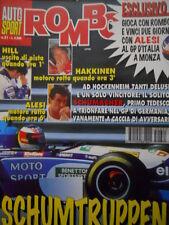 Auto & Sport ROMBO 31 1995 Gp Germania dominio di Michael Schumacher