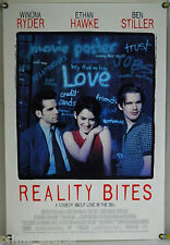 REALITY BITES DS ROLLED ORIG 1SH MOVIE POSTER WINONA RYDER ETHAN HAWKE (1994)