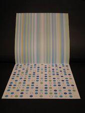 "Papel Scrapbooking 12 ""x12"" stripe/circle (CS25)"