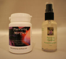 PUERARIA MIRIFICA BREAST SPRAY & CAPSULES FREE UK DELIVERY BUY NOW