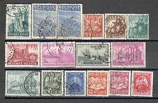 R6396 - BELGIO 1948 - LOTTO TEMATICI DEL PERIODO - FOTO