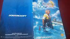 Livret Final Fantasy X sur PS2
