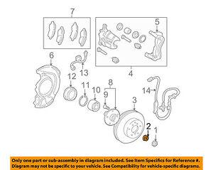 TOYOTA OEM-Axle Nut 9017822001