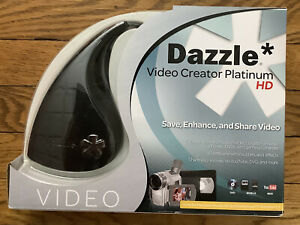 NEW Dazzle Video Creator Platinum HD Capture + Pinnacle Studio HD 15 PC - USB