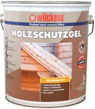 WILCKENS Wetterschutz Holzgel 5L Gel Holzlasur Holzschutz Lasur Schutz farblos