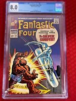 Fantastic Four 55 (CGC Graded) - Thing vs. Silver Surfer. Lockjaw cameo.