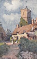 ISLE OF WIGHT :Godshill Church -LJ-'ARTIST' series