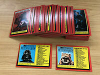 Star Wars - Jedi (ROTJ) Series 1 - Complete 132 Card Set - 1983 Topps - EX+/NM