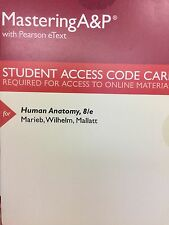 MasteringA&P with Pearson eText for Human Anatomy 8th Edition