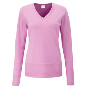 Womens Ping Bonnie Golf Polo Top Jumper Pullover UK 14