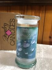JIC, Jewelry In Candles, Rainwater Candle with a Ladies's size 5 ring